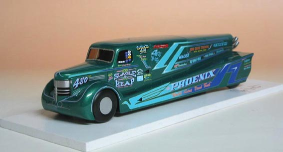 Fastest Diesel Truck >> Ugo Fadini Lsr Models The Phoenix The Model